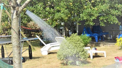 Douche jardin